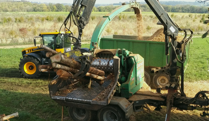 King Agricultural Contracting Services  Fp Services Contract Wood Chipping
